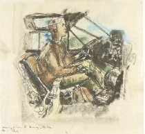 Image of [Pilot in Cockpit] - Poor, Anne, 1918-2002